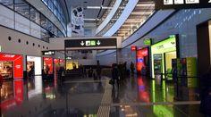 Flughafen Wien Аэропорт Вены спуск к CAT
