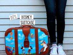 who.what.Ren: DIY: Disney Suitcase