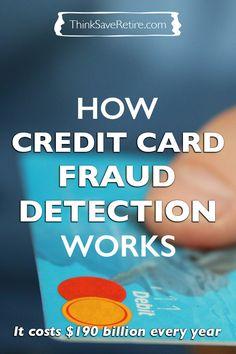 Ever wonder how credit card fraud detection works? I just hope it always works for me!