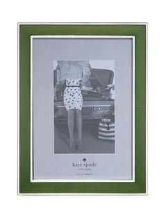 Kate Spade frame, perfect for a black and white photo!