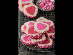 Valentine's Day Slice N' Bake Cookies | The First Year