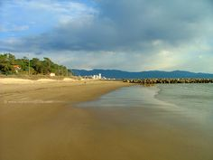 Pratoranieri beach Follonica Maremma Tuscany