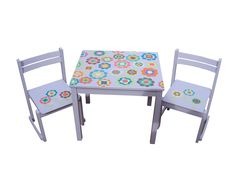 Children chairs and table
