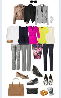 Select clothing that can be worn with every other piece in yr travel wardrobe #travel #traveletiquette #Tours#style #vogue