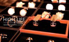 """Las mancuernillas o """"gemelos"""", figuran entre los complementos más finos del atuendo elegante. #HighLife"""