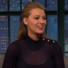 Pin for Later: Blake Lively Talks About That One Time She Asked President Obama For a Favour