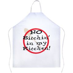 This apron is made out of Polyester designed to give you a sarcastic and fun apron to wear while cooking in the Kitchen. The size of this Apron is We recommend a cold wash only to ens Cool Aprons, White Apron, Kitchen Humor, Kitchen Aprons, Vinyl Shirts, Kitchen Gadgets, Funny Gifts, Kitchen White, Me Quotes