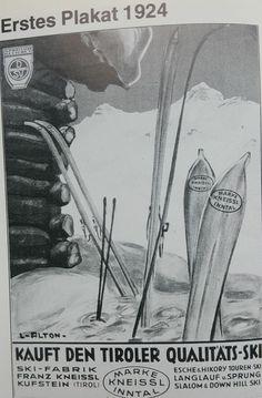 First Kneissl poster 1924 - Erstes plakat 1924