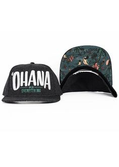 b454ed4de2  Ohana Over Everything  Snapback - Charcoal Heather Ohana