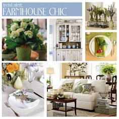 The casual farmhouse chic look isn't for everyone, but if this laid back, mismatched style is for you it is so easy to accomplish! Description from livingaftermidnite.blogspot.com. I searched for this on bing.com/images