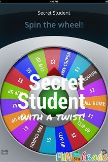 Having a secret student each day can work wonders for your classroom management!  Check out this post to bring in a little more technology, which kids LOVE!