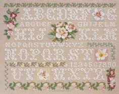 Monogram Cross Stitch, Cross Stitch Love, Cross Stitch Samplers, Modern Cross Stitch, Cross Stitch Charts, Cross Stitching, Cross Stitch Alphabet Patterns, Stitch Patterns, Embroidery Sampler
