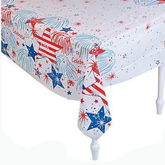 1 USA Fireworks Tablecloth #13715536