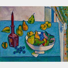 Canadian Art still life. Jean Philippe, Canadian Art, Art Auction, Still Life, Oil On Canvas, Vibrant, Fine Art, Painting, Artists