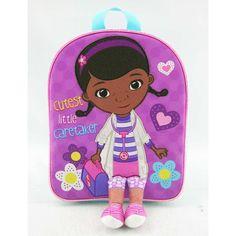 Disney Doc Dottie McStuffins 10 inch Backpack Cutest Little Caretaker