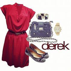 #dress #calzado #shoes #zapatos #bags #red #Mujer #latina #woman #fashion #moda #style #casual #original #pretty #cute #lovely #goodlooking #look #cccuartaetapa Derek Local 402-10
