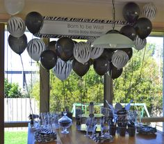 Born to be Wild Baby Shower - Zebra Print Decorations from @BigDotOfHappiness.com | Baby Shower Ideas and Decorations #BigDot #HappyDot
