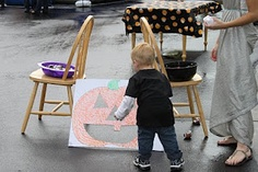 DIY Toddler Approved Halloween Carnival Games! #diy event games
