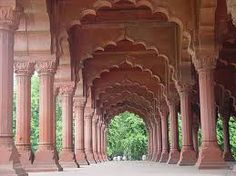 Red fort interior