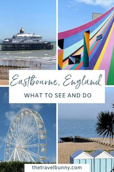 A guide to exploring Eastbourne, East Sussex. What to see and do in Eastbourne on England's south coast, where to stay, coastal walks, fortresses, piers and bandstands #Eastbourne #EastSussex #travelguide Travel Advice, Travel Guides, Travel Tips, Uk Bucket List, Uk Holidays, Weekend Breaks, East Sussex, Holiday Destinations, Trip Planning