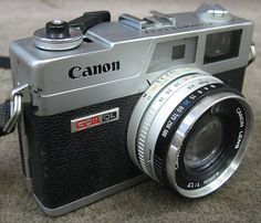Canon Canonet QL17 G-III QL Rangefinder 35mm Camera *DIRTY LENS* | eBay