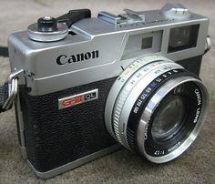 Canon Canonet QL17 G-III QL Rangefinder 35mm Camera *DIRTY LENS*   eBay