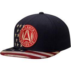 size 40 371a2 9982d MLS Atlanta United FC adidas Patriotic Snapback Adjustable Hat - Navy  Atlanta United Fc, Soccer