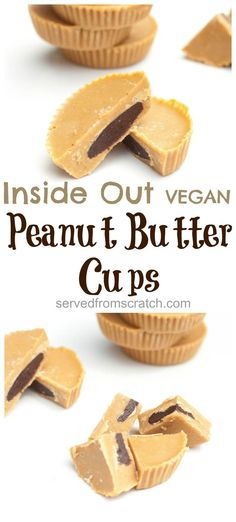 Your Favorite Peanut Butter and Chocolate candy for the Peanut Butter Lover, that's VEGAN friendly!