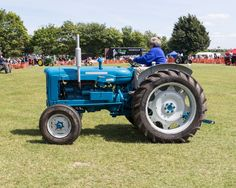 10x8 #Download, #Vintage Blue Tractor #Photograph Fordson Super Major, colour pho, View more on the LINK: http://www.zeppy.io/product/gb/3/235533282/