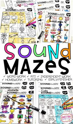 Sound Mazes Phonics