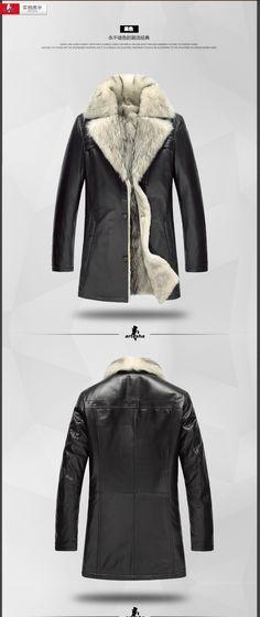 100% белый волк куртка 6xl одежда топы водонепроницаемый натуральная кожа зимнее пальто мужчины