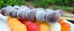 Sorvete natural de uva