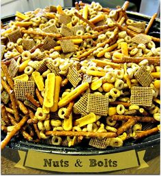 Homemade Nuts and Bolts are the Perfect Holiday Snack! - Older Mommy Still Yummy