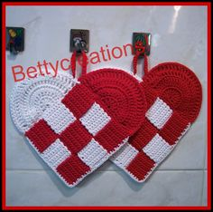 Presine Uncinetto Cuore Intrecciate, by Bettycreations! , 12,00 € su misshobby.com
