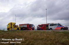 12-04-2013 Afrit Bleiswijk afgesloten na ongeval met vrachtwagen