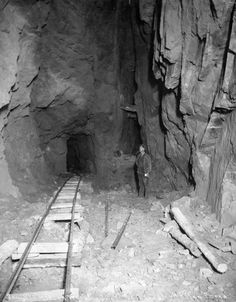 500 Feet Underground, Cripple Creek by Unknown Artist 1900 Cripple Creek Colorado, Colorado Springs, Gold Prospecting, Colorado Homes, Pikes Peak, Gold Rush, Old West, Western Art, Old Pictures