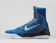 Nike Kobe 9 Elite Brave Blue Official Images and Release Date