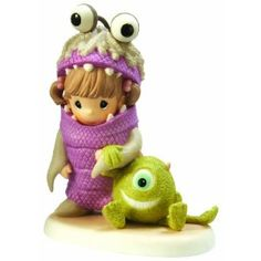 Precious Moments Monsters Inc Collectible Figurine. I love Precious Moments &&& Monsters, Inc! Monsters Inc Boo, Disney Monsters, Precious Moments Quotes, Disney Precious Moments, Precious Moments Figurines, Disney Figurines, Collectible Figurines, Disney Statues, Biscuit