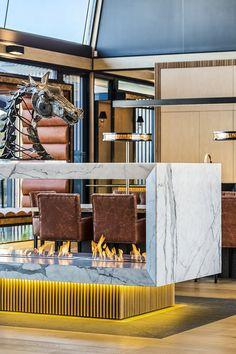 Luxury Queensland Home – Custom Made Marble Fireplace. Designer is Mark Gacesa of Ultraspace. Interiors by Minka Joinery www.minkajoinery.com.au