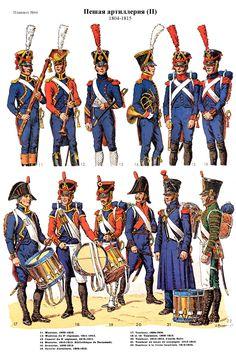 SOLDIERS- Rousselot: NAP- France: Artillerie a pied 1804-1815 (pl 66)1
