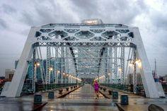 11) Nashville Pedestrian Bridge