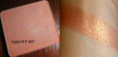 Inglot #P 407 (possible dupe for Clinique's strawberry fudge)