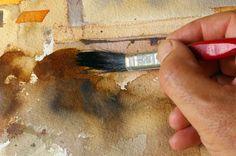 online leren tekenen en waterverf schilderen