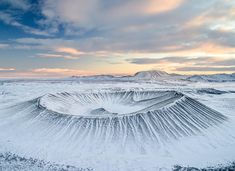 Before you lies Hverfjall which is one of the largest explosion craters in the world.