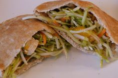 Chinese Chicken Salad Pitas - Colleen's Kitchen