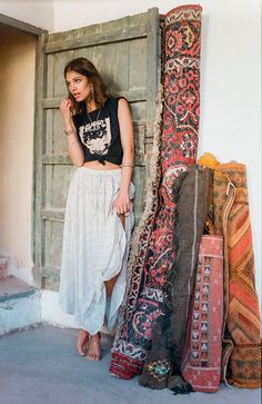 """Spell Designs' """"Lionheart"""" collection features hand embellished Arabian jewel pieces, lionheart print, luxe details like drop waists & vertical stripes."""