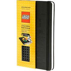 Moleskine Lego Notebook Grande Preto Pautado Capa Dura