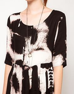 Evil Twin 'Shadow Of Doubt' Printed Dress