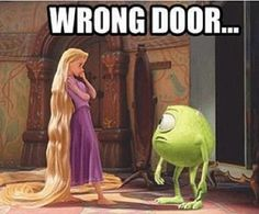 Thus should have totally happened in Monsters University!!!!!