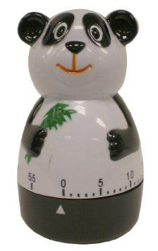 Global Decor Panda Kitchen Timer: Amazon.com: Kitchen & Dining